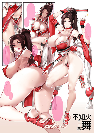 manga King of Fighters Collection, alice garnet nakata , angel , big breasts , anal  full-color