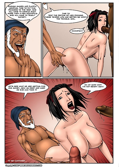 manga Fucked Up Fairy Tales - Not So White -.., gangbang , bondage  rape