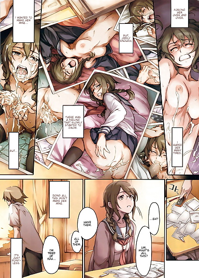 english manga Imashime wa Atatakaku... - Warm Bonds..., full color , manga  rape