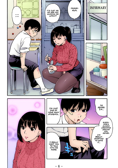 english manga Nonstop! Inukai-kun, big breasts , full color  full-color