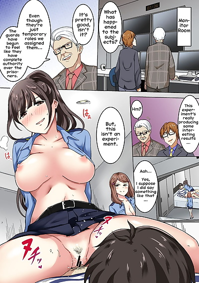english manga Kangoku Zemi Kanshu ni Zettai Fukujuu.., big breasts , full color  rape