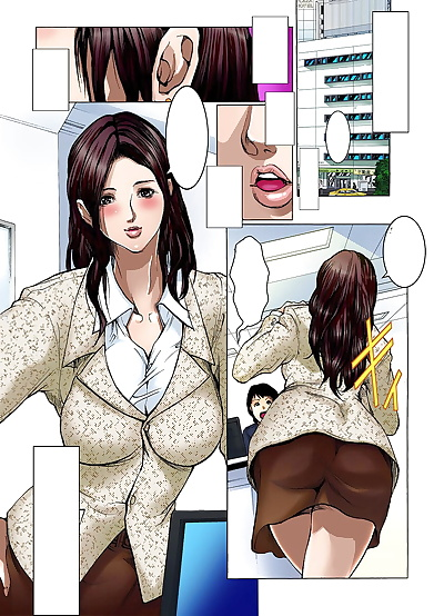 manga San Kento Yagai Roshutsu ~Nozokareta.., big breasts , full color