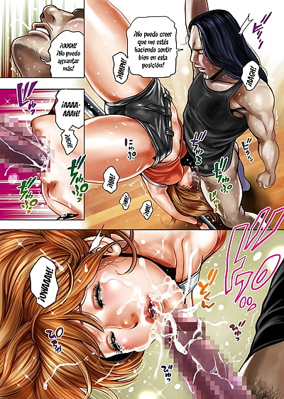 manga Tabe Koji Bitch on the Pole Spanish.., full color , manga